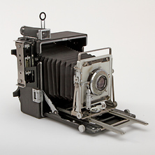 Crown Graphic 4x5 Camera with 127mm f/4.7 Lens - Used Image 0