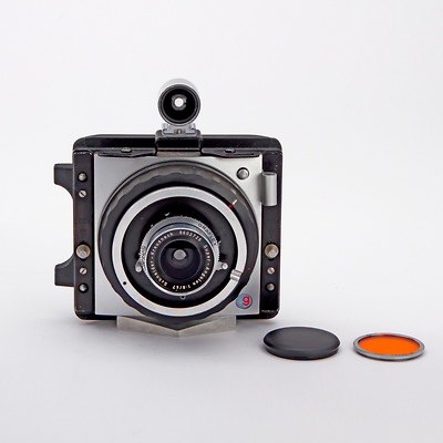 XLSW Camera w/47mm Lens, Orange Filter & Generic Wide Angle Finder - Pre-Owned Image 0