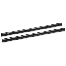 12 in. 15mm Aluminum Rod (Pair, Black) Image 0