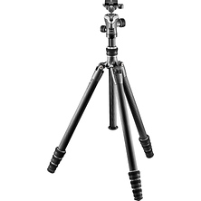 GT1545T Series 1 Traveler Carbon Fiber Tripod with Center Ball Head Image 0