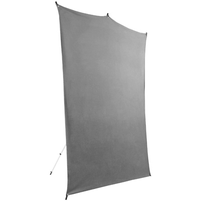 5 x 7 ft. Backdrop Travel Kit (Gray) Image 0