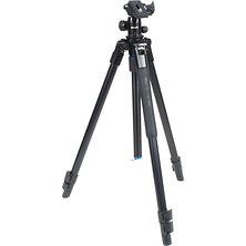Pro AL-323BH4 Tripod with SBH-400 Triple Action Ball Head (Matte Black) Image 0