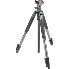 Sprint Pro III Tripod with SBH-100 DQ Compact Ball Head (Gun Metal Gray) Image 0