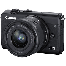 EOS M200 Mirrorless Digital Camera with 15-45mm Lens (Black) Image 0