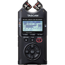 DR-40X 4-Channel / 4-Track Portable Audio Recorder with Adjustable Stereo Microphone Image 0