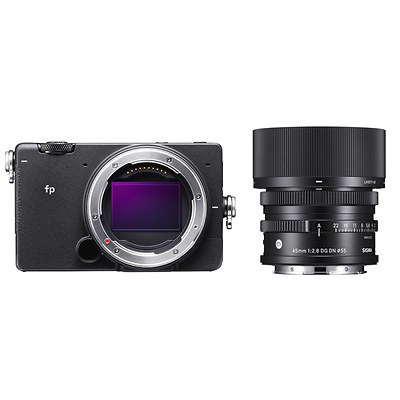 fp Mirrorless Digital Camera with 45mm f/2.8 DG DN Contemporary Lens Image 0