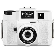 120N Medium Format Film Camera (White) Image 0
