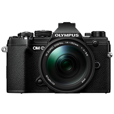 OM-D E-M5 Mark III Micro Four Thirds Digital Camera with 14-150mm Lens (Black) Image 0
