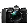 OM-D E-M5 Mark III Micro Four Thirds Digital Camera with 14-150mm Lens (Black)