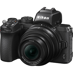 Nikon Z50 Mirrorless Digital Camera with 16-50mm Lens Image