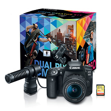 EOS 90D Digital SLR Camera with 18-55mm Lens Video Creator Kit Image 0