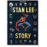 The Stan Lee Story - Hardcover Book