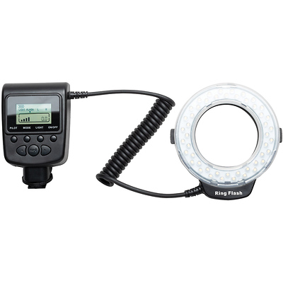 LED Continuous and Flash Ring Light Image 0