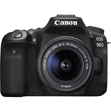 EOS 90D Digital SLR Camera with EF-S 18-55mm f/3.5-5.6 IS STM Lens Image 0