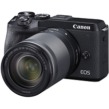 EOS M6 Mark II Mirrorless Digital Camera with 18-150mm Lens and EVF-DC2 Viewfinder (Black) Image 0