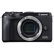 EOS M6 Mark II Mirrorless Digital Camera Body (Black)