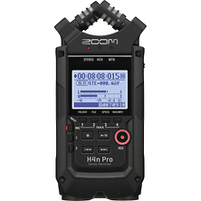H4n Pro 4-Input / 4-Track Portable Handy Recorder with Onboard X/Y Mic Capsule (Black) Image 0