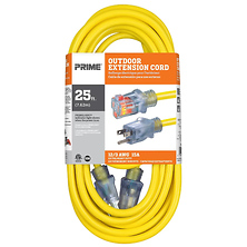 25 ft. 12/3 Jobsite Outdoor Extension Cord (Yellow) Image 0