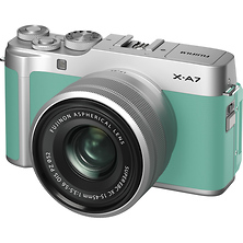 X-A7 Mirrorless Digital Camera with 15-45mm Lens (Mint Green) Image 0