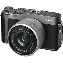 X-A7 Mirrorless Digital Camera with 15-45mm Lens (Dark Silver) Image 0