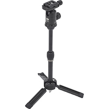 3T-35K Plus Tripod with C-10S Ball Head (Black) Image 0