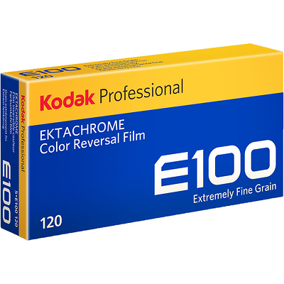 Ektachrome E100 Color Transparency Film (120 Roll Film) Image 0