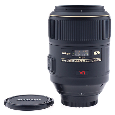 NIKKOR AF-S 105mm  VR Micro- f/2.8G IF-ED Lens - Pre-Owned Image 0