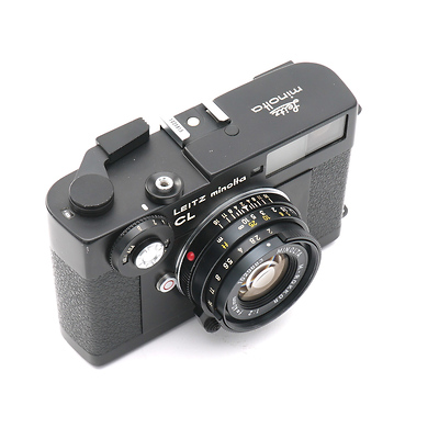 Minolta CL Camera with 40mm f/2.0 Rokkor Lens - Pre-Owned Image 0