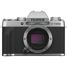 X-T200 Mirrorless Digital Camera Body (Silver) Image 0