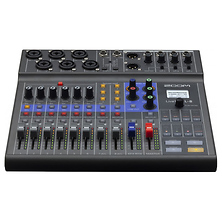LiveTrak L-8 Portable 8-Channel Digital Mixer and Multitrack Recorder Image 0