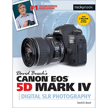 David D. Busch Canon EOS 5D Mark IV Guide to Digital SLR Photography - Paperback Book Image 0