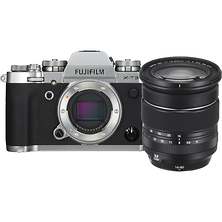 X-T3 Mirrorless Digital Camera with 16-80mm Lens (Silver) Image 0