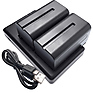 NP-F750 Lithium-Ion Batteries and Dual Charger Bundle Thumbnail 1