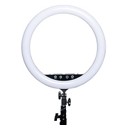 17 in. Vlogger Ring Light