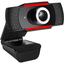 Adesso CyberTrack H3 720p Desktop Webcam with Built-In Microphone Image