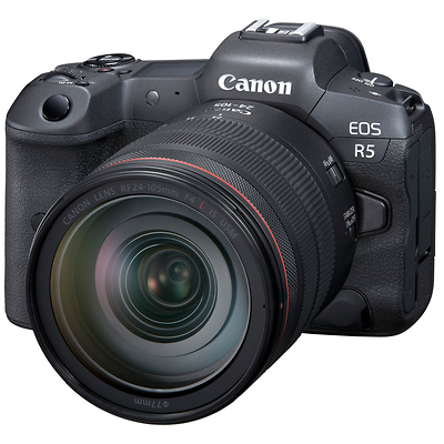 EOS R5 Mirrorless Digital Camera with 24-105mm f/4L Lens Image 0