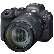 EOS R6 Mirrorless Digital Camera with 24-105mm f/4L Lens Image 0