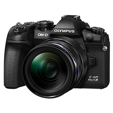 OM-D E-M1 Mark III Mirrorless Micro Four Thirds Digital Camera with 12-40mm Lens (Black) Image 0