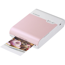 SELPHY Square QX10 Compact Photo Printer (Pink) Image 0