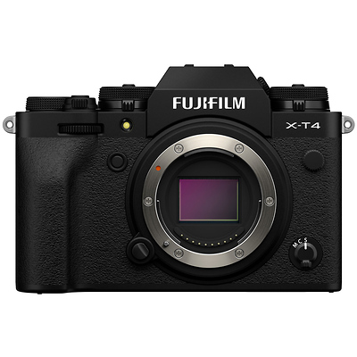 X-T4 Mirrorless Digital Camera Body (Black) Image 0