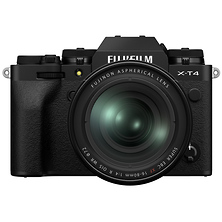 X-T4 Mirrorless Digital Camera with 16-80mm Lens (Black) Image 0
