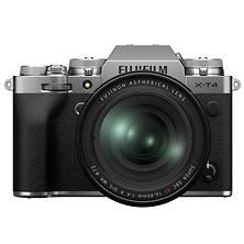 X-T4 Mirrorless Digital Camera with 16-80mm Lens (Silver) Image 0