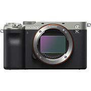 Alpha a7C Mirrorless Digital Camera Body (Silver)