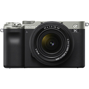 Alpha a7C Mirrorless Digital Camera with 28-60mm Lens (Silver)