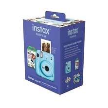 INSTAX Mini 11 Instant Film Camera Bundle (Sky Blue) Image 0