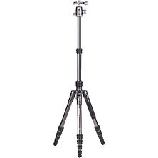 65.2 in. Bat One Series Aluminum Travel Tripod with VX20 Ball Head Image 0