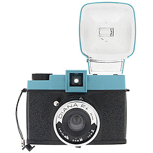 Diana F+ Film Camera and Flash (Teal/Black) Image 0