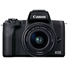 EOS M50 Mark II Mirrorless Digital Camera with 15-45mm Lens (Black) Image 0