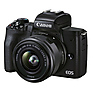 EOS M50 Mark II Mirrorless Digital Camera with 15-45mm Lens (Black) Thumbnail 1