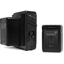 NANO Micro 98Wh Lithium-Ion 2-Battery Kit with Dual Travel Charger (V-Mount) Image 0